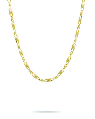 Legàmi 18k Gold Interlock Chain Necklace  17L