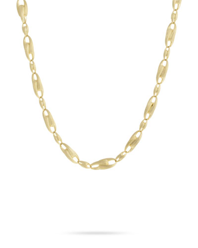 Legami 18k Gold Interlock Chain Necklace  18L