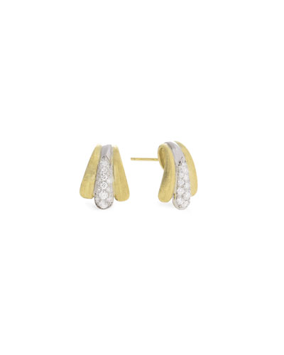 Legami 18k Diamond Huggie Hoop Earrings