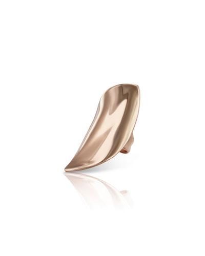 18k Rose Gold Lakshmi Ring  Size 6.5