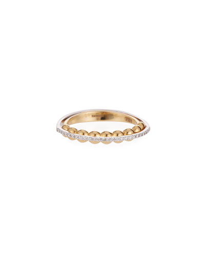 Marea 18k Gold Two-Tone Diamond Ring