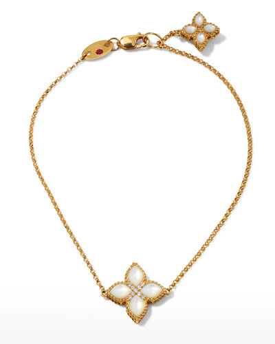 Venetian Princess 18k Mother-of-Pearl Bracelet w/ Diamonds