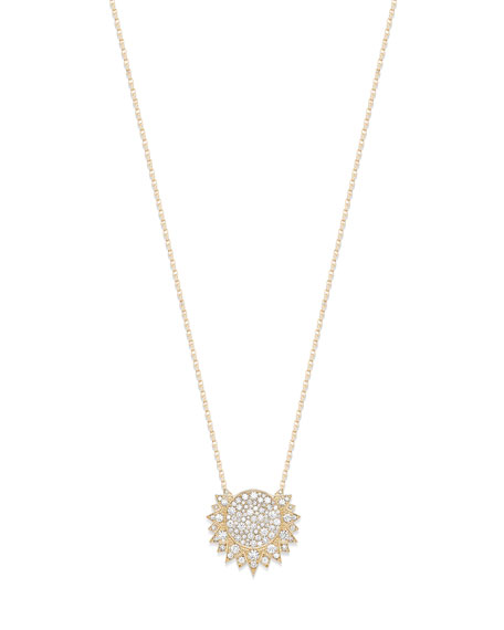 PIAGET Sunlight 18k Rose Gold Diamond Pendant Necklace