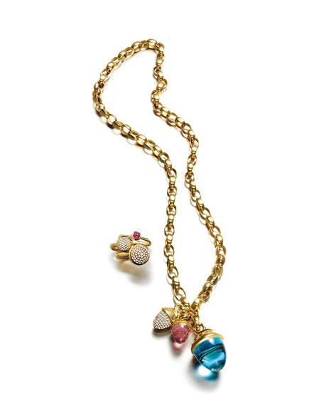 "Tamara Comolli 18k Chain-Link Necklace, 22""L"