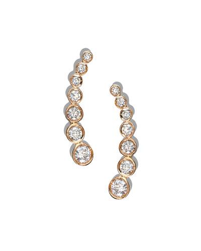 14k Femme Fatale Diamond Stud Earrings
