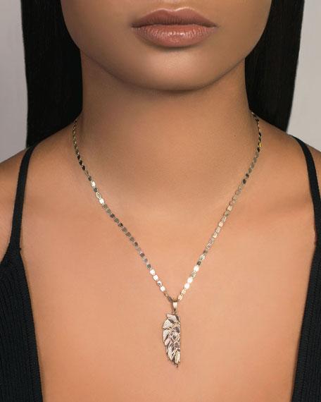 LANA Flawless Half Lion Pendant Necklace