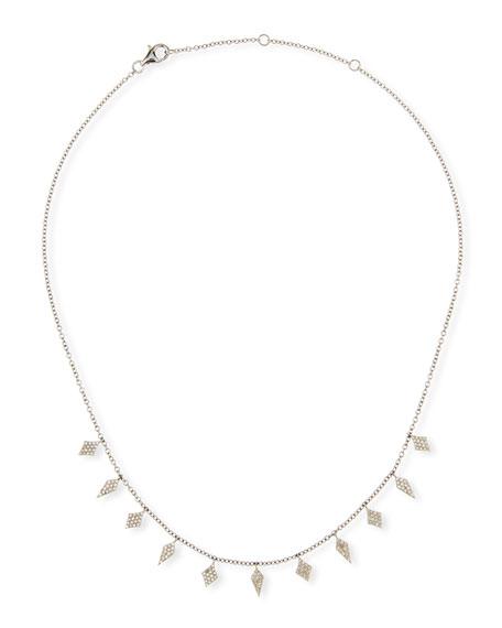 Siena Jewelry Diamond-Dagger Necklace