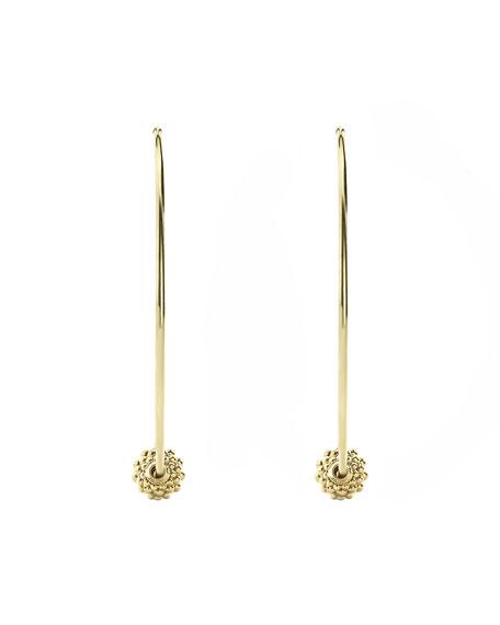 LAGOS Caviar 18k Gold Hoop Earrings, 80mm