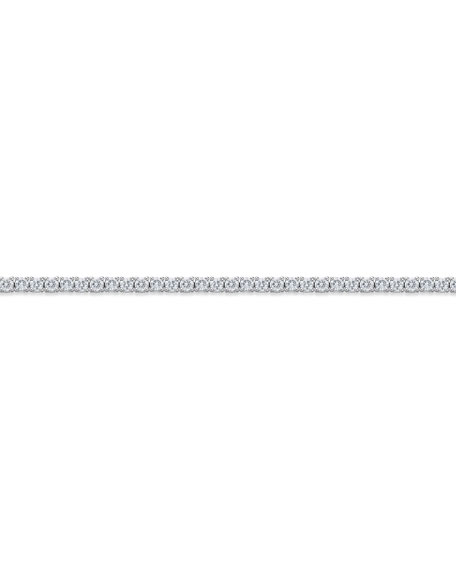 Memoire 18k White Gold Diamond Tennis Bracelet