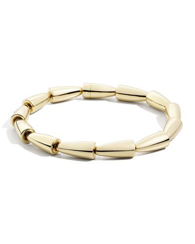 Calla 18k Rose Gold Flexible Necklace