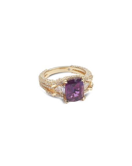 COOMI Trinity 20k Alexandrite Ring, Size 7