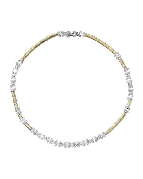 Nikos Koulis Feelings 18k Gold Diamond Necklace