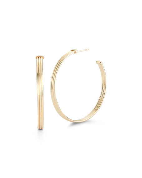 Miseno 18k Yellow Gold Hoop Earrings