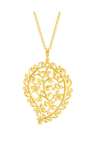 Tamara Comolli 18k Yellow Gold India Dream Pendant