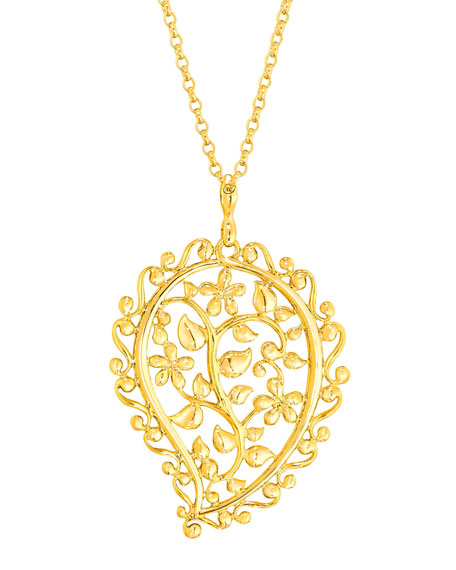 Tamara Comolli 18k Yellow Gold India Dream Pendant