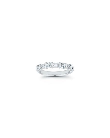 NM Diamond Collection Platinum Diamond Ring, 1.03tcw