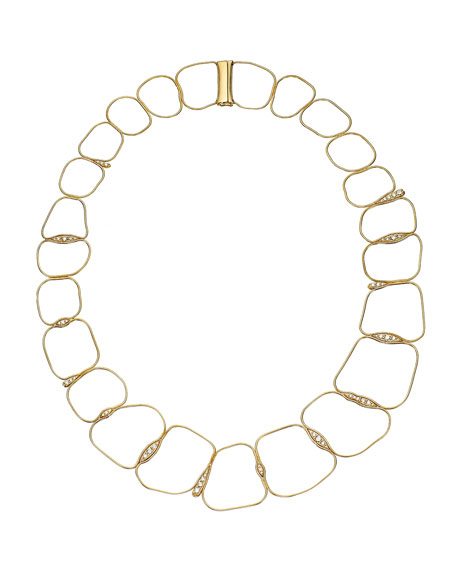 Fernando Jorge Fluid 18k Diamond Chain Necklace