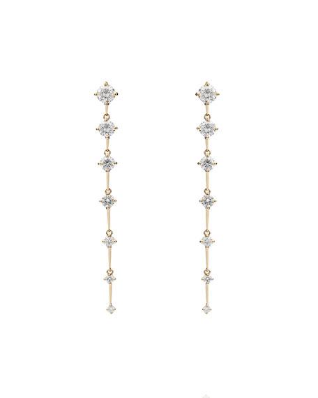 Fernando Jorge Sequence 18k Diamond Linear Earrings