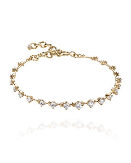 Fernando Jorge Sequence 18k Diamond Bracelet