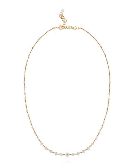 Fernando Jorge Sequence 18k Diamond Necklace
