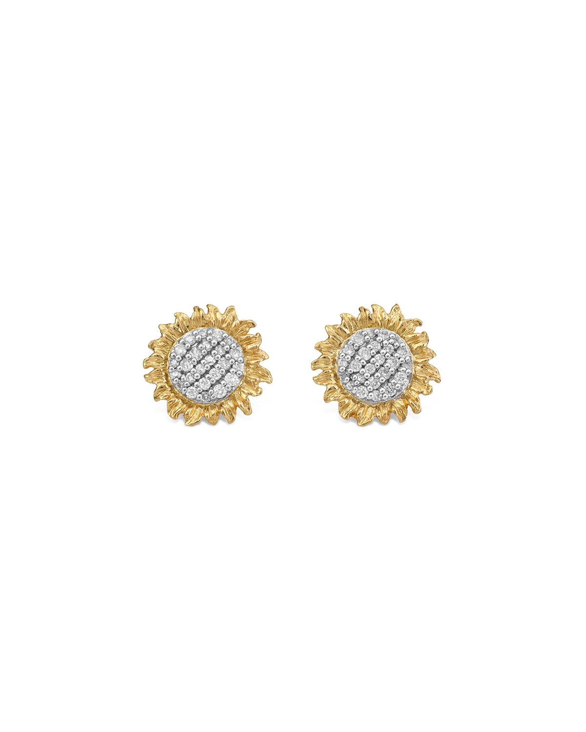 Michael Aram Vincent Diamond Stud Earrings, 11mm