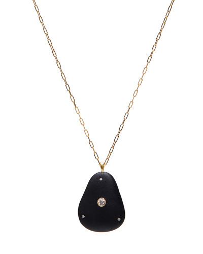 18k Gold Pear Ideal Necklace - One of a Kind  30