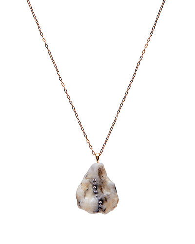 18k Gold Pentagon Lux Necklace - One of a Kind  18