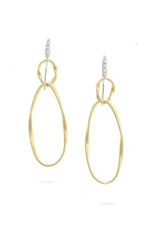 Marco Bicego Marrakech Onde Double Link Hook Earrings