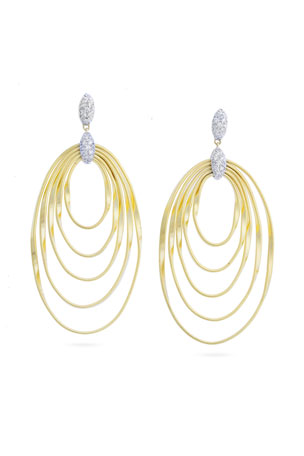 Marco Bicego Marrakech Onde Large Concentric Drop Earrings
