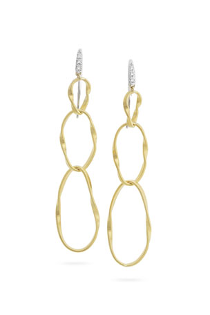 Marco Bicego Marrakech Onde Double Link Post Earrings