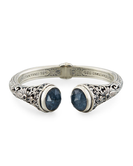 Faceted Specular Hematite Bracelet