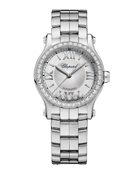 30mm Happy Sport Mini Watch with Diamonds