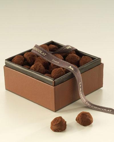 La Maison Du Chocolat Plain Truffles, 0.88 lb.