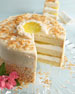 Pineapple Coconut Cake, For 10-14 People