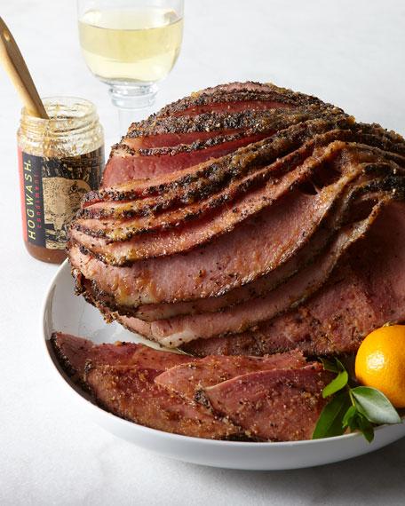 Hickory-Smoked Peppered Ham