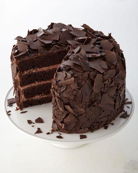 Dutched Chocolate Cake
