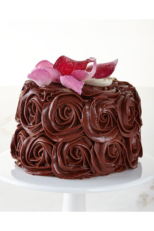 We Take The Cake Chocolate Rose Cake, For 8-10 People