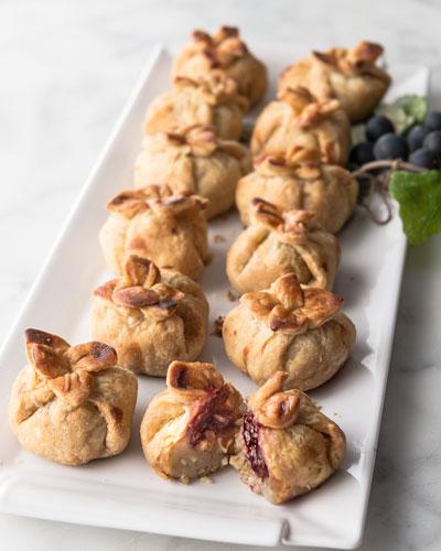 Brie Raspberry Bites