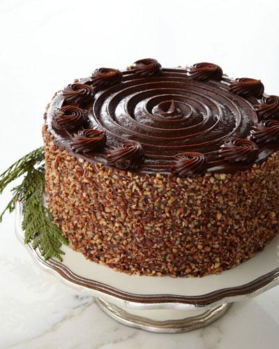 Texas Bourbon Pecan Cake