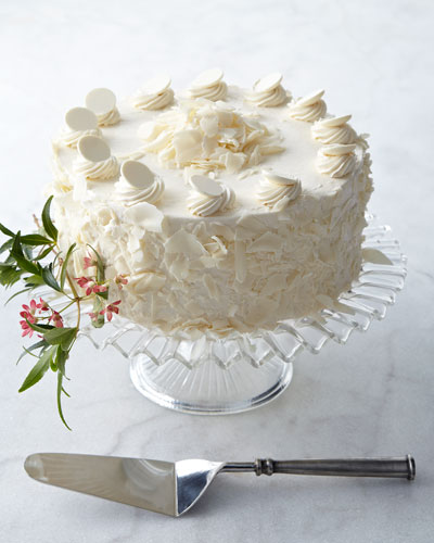 FROSTED ART BAKERY White Chocolate Torte
