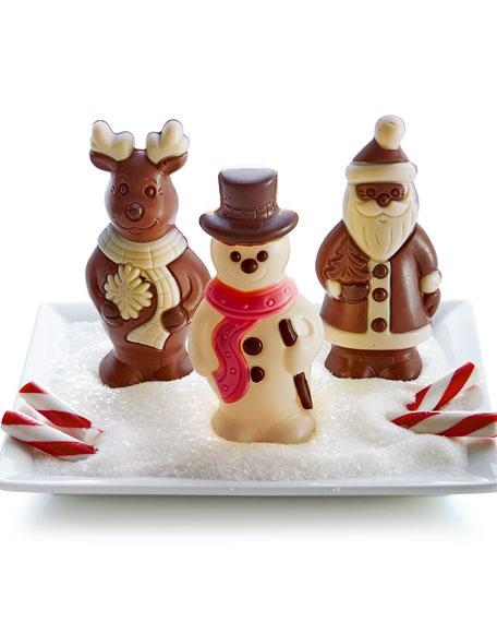 charbonnel et walker three chocolate christmas figures