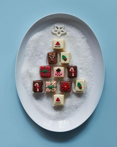 Classic Christmas Petits Fours