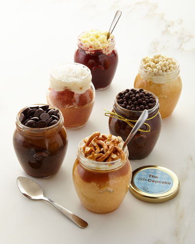 Cupcake-in-a-Jar Six Pack
