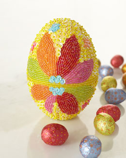Godiva Limited Edition Beaded Egg