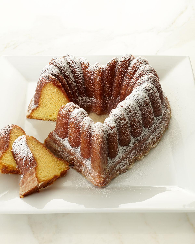 Heart Shaped Rum Cake