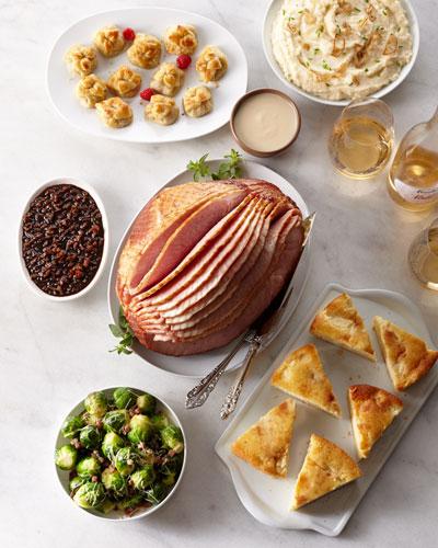 Spiral-Cut Ham Dinner
