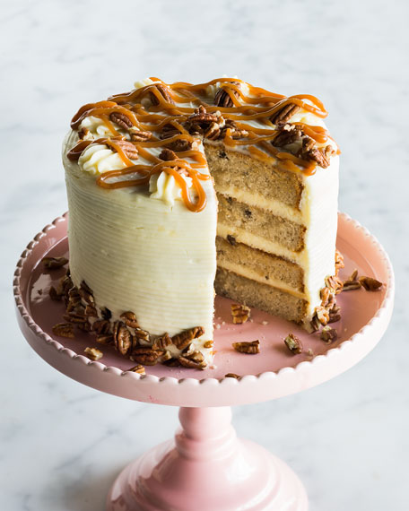 "7"" CARAMEL PECAN CAKE"