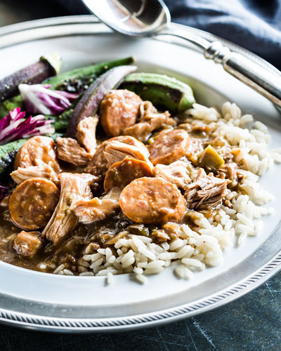 Mild Chicken & Sausage Jambalaya