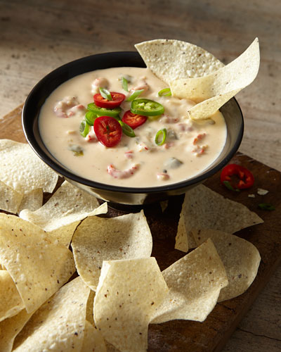 Crawfish Queso Cheese Dip
