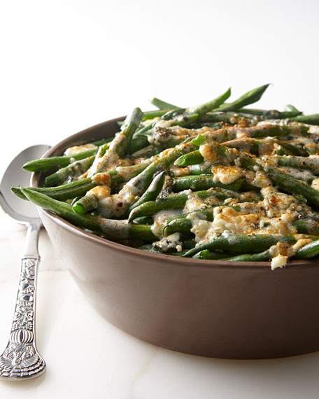 Neimanmarcus Green Beans with Blue Cheese
